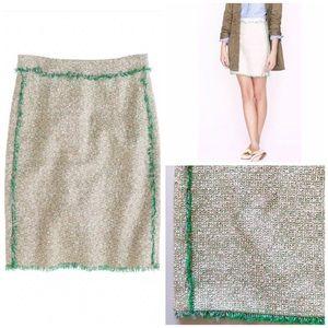 J. Crew | Tweed Skirt